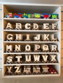 Houten lettertrein