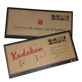 Kadobon Bliksem!8491