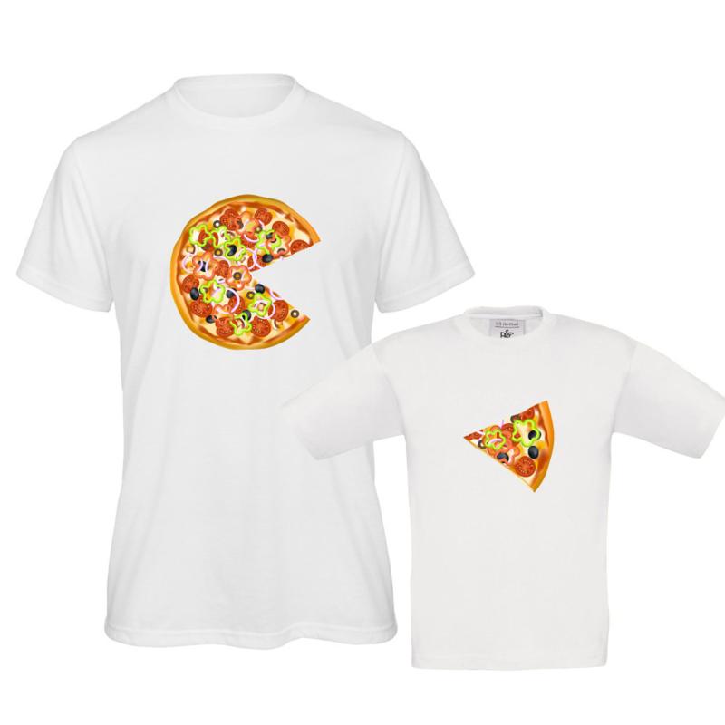 T-shirt en romper ouder-kind