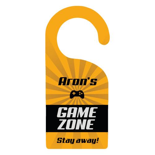 Deurhanger 'Game Zone'
