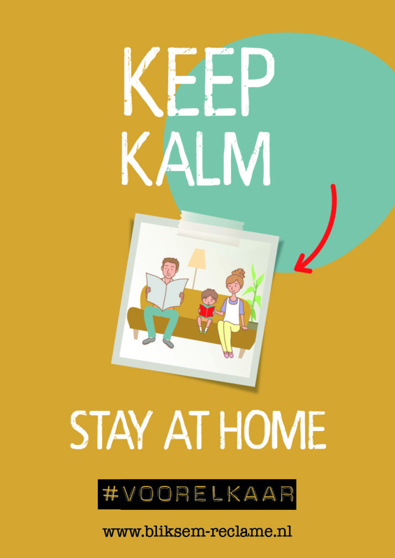 Poster Stay at home