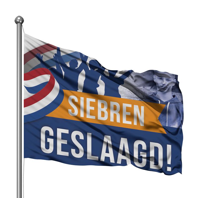 Vlag - Geslaagd