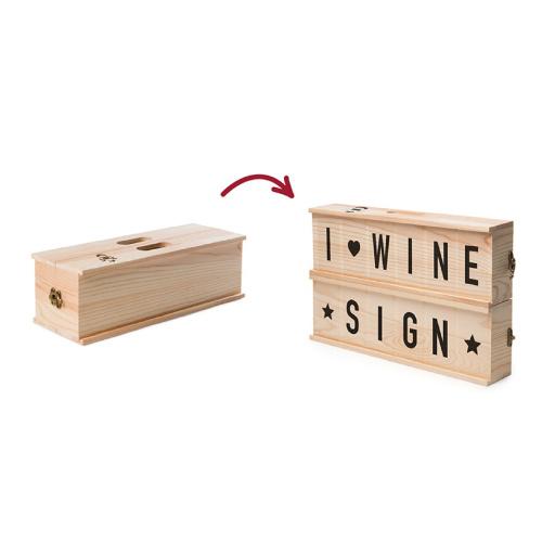 Rackpack - Wine Sign