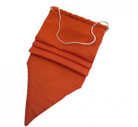 Oranje wimpel [25 x 350 cm]