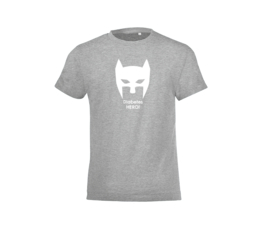 T-shirt - Diabetes Hero Grey
