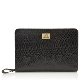 Sweet Collections Snake Black Pouch
