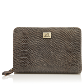 Sweet Collections Snake Grey Pouch