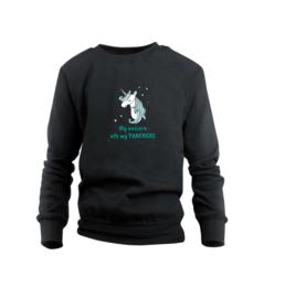 Sweater - Unicorn Schwarz