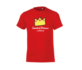 T-shirt - Sweetest Princess Red