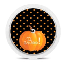 Freestyle Libre Sensor Sticker - Halloween Boo