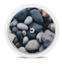Freestyle Libre Sensor Sticker - Stones