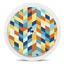 Freestyle Libre Sensor Sticker - Geo