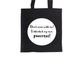 Tote bag - Don't mess with me!