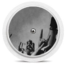 Freestyle Libre Sensor Sticker - Rock