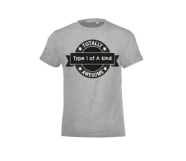 T-shirt - Type one of a Kind Grey