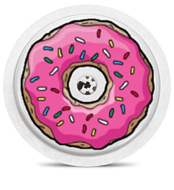 Freestyle Libre Sensor Sticker - Donut