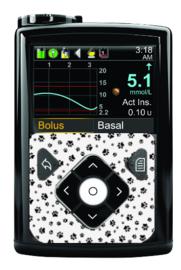 Medtronic 780G/670G/640G Sticker - Pawprint
