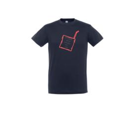 T-shirt - Juice box Blau