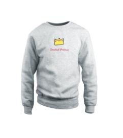 Sweater - Sweetest Princess Grau