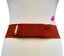 Comfort belt pompband Brique