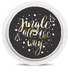 Freestyle Libre Sensor Sticker - Christmas Jingles