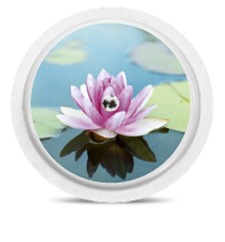 Freestyle Libre Sensor Sticker - Lotus flower