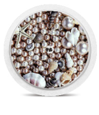 Freestyle Libre Sensor Sticker - Sea Pearls
