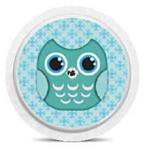 Freestyle Libre Sensor Sticker - Owl