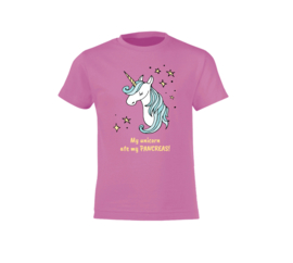 T-shirt - Unicorn Pink