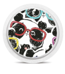 Freestyle Libre Sensor Sticker - Panda