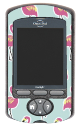 Omnipod PDM sticker - Flamingo