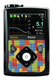 Medtronic 780G/670G/640G Sticker - Bricks