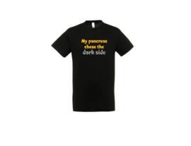 T-shirt - Dark side Schwarz