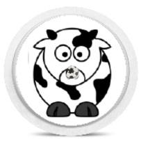 Freestyle Libre Sensor Sticker - Cow