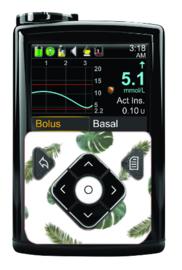 Medtronic 780G/670G/640G Sticker - Leaves