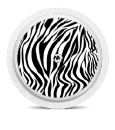 Freestyle Libre Sensor Sticker - Zebra