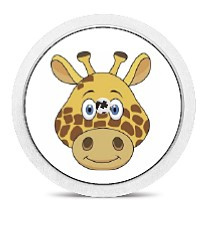 Freestyle Libre Sensor Sticker - Giraffe