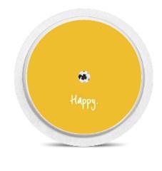 Freestyle Libre Sensor Sticker - Happy