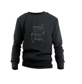 Sweater - Surviving Schwarz