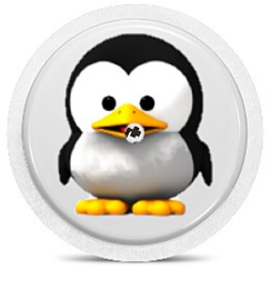 Freestyle Libre Sensor Sticker - Pinguin