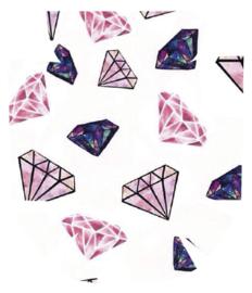 MyLife Pod Sticker - Diamonds