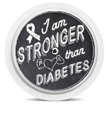 Freestyle Libre Sensor Sticker - Stronger than Diabetes