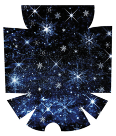 Omnipod Sticker - Snow Stars