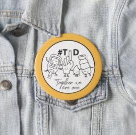 Diacé Awareness Button