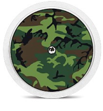Freestyle Libre Sensor Sticker - Camouflage