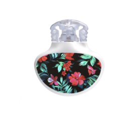 Medtronic Guardian Sticker - Tropical Red Flowers