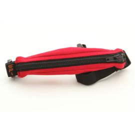 SPIbelt diabetic kids red pump pouch with black zipper