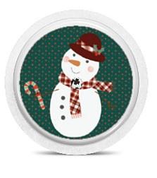 Freestyle Libre Sensor Sticker - Snowman