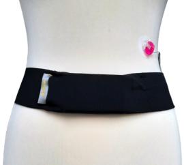 Comfort belt pompband Black