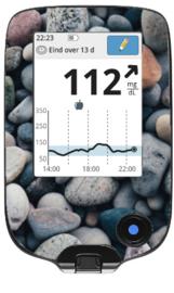 Freestyle Libre Reader Sticker - Stones